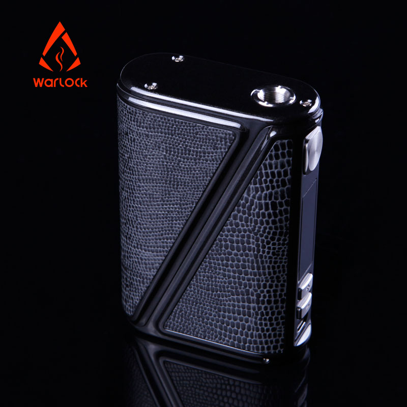 все цены на 2pcs/lot Original Warlock Electronic Cigarette 233W Box Mod E Cigarette Smallest Size e-cigarettes Powered by 18650 Vaporizer в интернете
