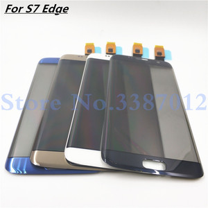 Original Replacement Parts For Samsung Galaxy S7 Edge G9350 G935 G935F Touch Screen Digitizer Sensor Glass Panel