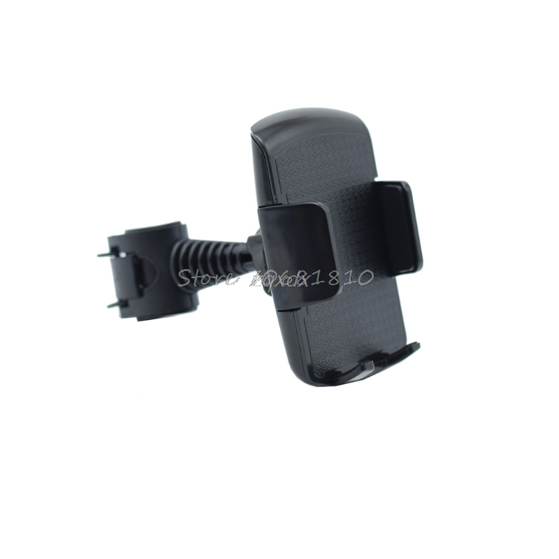 360 Rotatable Car Back Seat Headrest Mount Holder Stand For iphone Samsung LG Xiaomi Huawei 3.5-6 Smart Phone New Z07