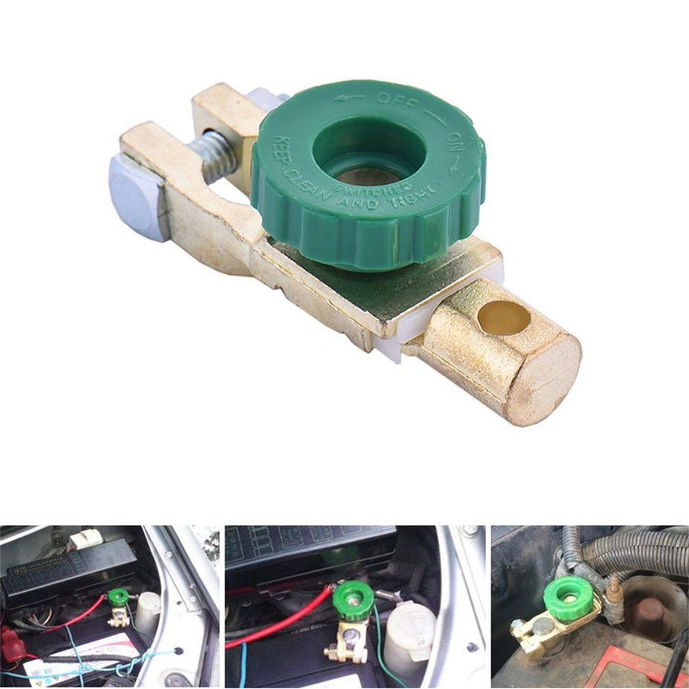 Professionnel en alliage de Zinc cuivre batterie Terminal lien interrupteur rapide coupure déconnexion isolateur interrupteur Auto voiture accessoires