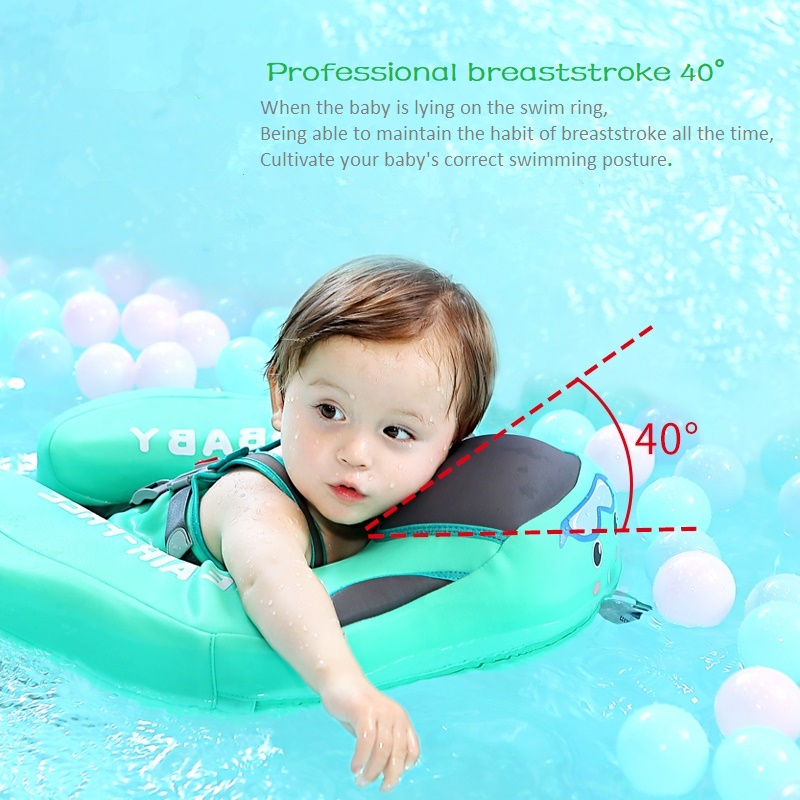 Baby Float For Infant Waist Swimming Ring Swim Trainer Life Vest Non-Inflatable Floats Toys With Adjustable Safety Strap