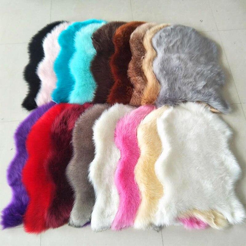 Artificial Sheepskin Shaggy Faux Fur Decorative Carpet