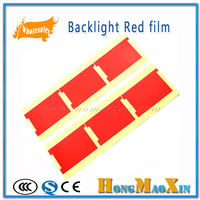 100 Pcs Lot New Backlight Red Film Sticker For IPhone 4 4S 5 5S 5C 6