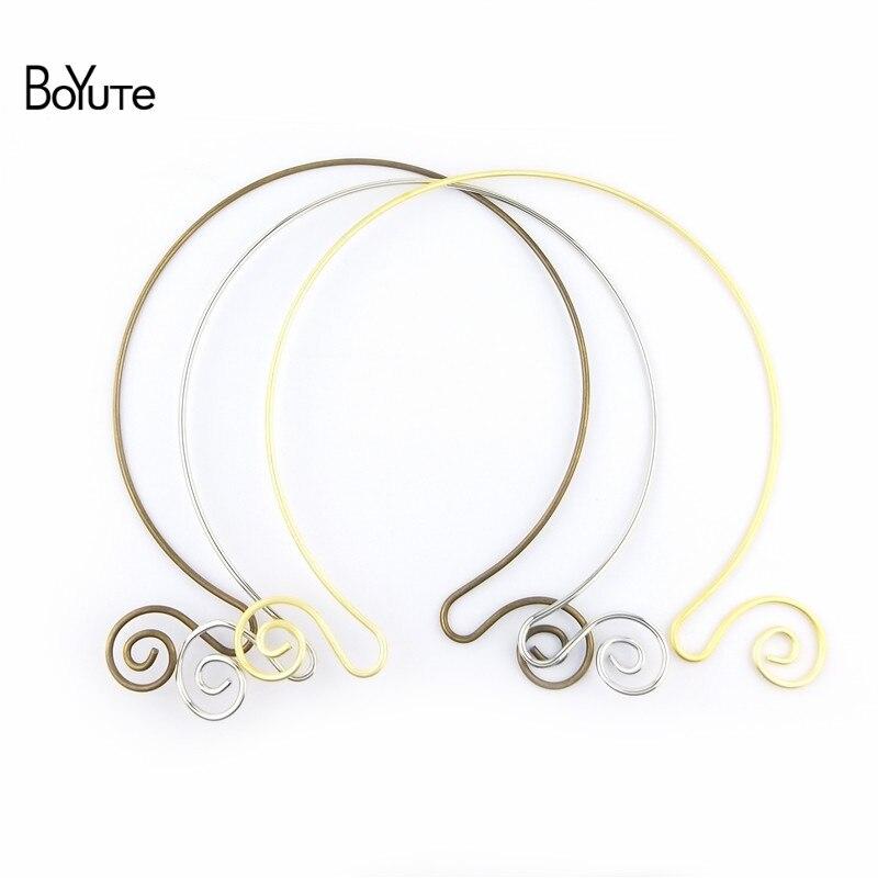BoYuTe 1552MM Metal Copper Women Wreath Collar Choker Necklace Diy Jewelry Accessories (5)