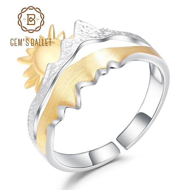 Jóias de noivado de prata esterlina 925 anel de banda de casamento artesanal ajustável anel aberto para homens