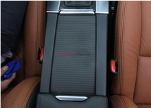 Stainless Interior Console Armrest Box Car Seat Seam Stripe Cover trim 2pcs for VOLVO XC60 2009 2010 20112012 2013 2014 2015