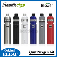 100% Original Eleaf iJust NexGen All-In-One Starter Kit 3000mAh Battery 50W With 2ML Tank 4 Color LEDs