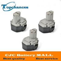 3PCS Lot High Quality NEW 14 4 VOLT BATTERY PERFECT FOR MAKITA 1433 1434 1435F 193158