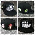 Hat cap мужчины женщины женщины мужчины девочки мальчики дамы бейсбол snapback ny хип-хоп мода для бренда шляпы шапки marvel мстители
