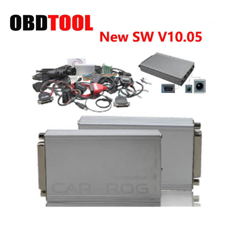 CARPROG V10.05 FULL Set with all 21 items Adapters CARPROG ECU chip tuning For Airbag Reset Car Detector Tool JC10