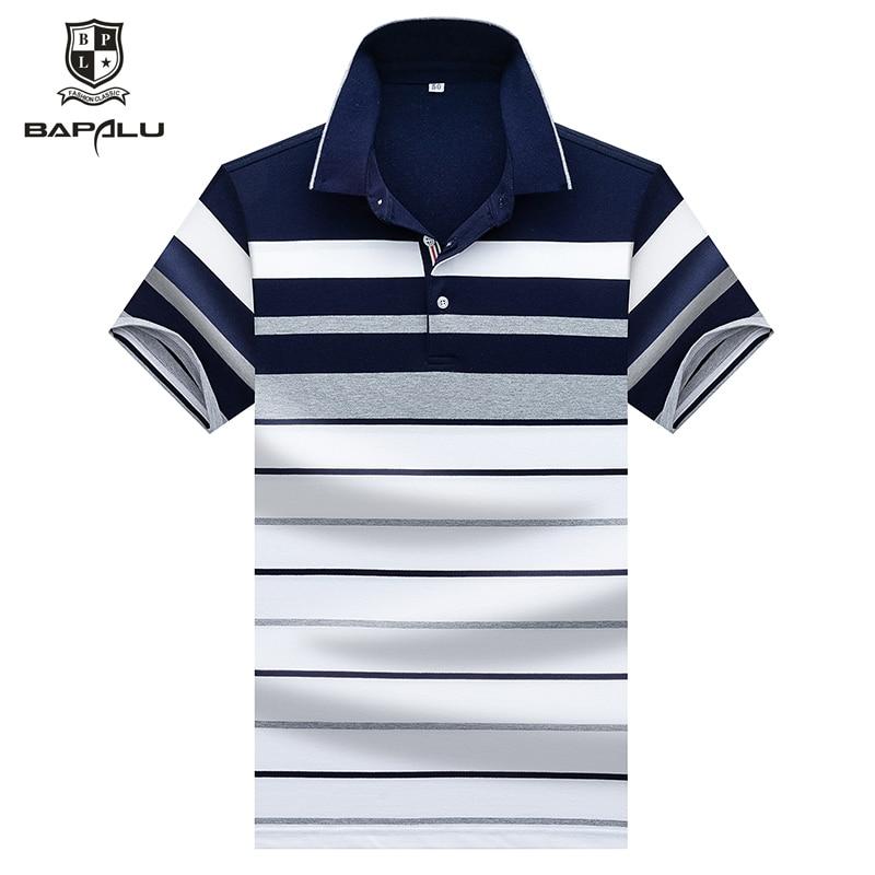 Summer new men's Polo shirt business men's brand Polo shirt lapel men's polo shirt 8059
