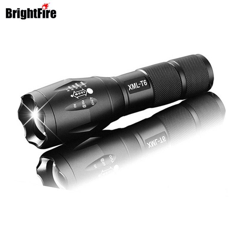 Professionelle 3800LM XML-T6 LED Taschenlampe Hohe qualität 5 Modi Zoombare lanterna Taschenlampe Beleuchtung