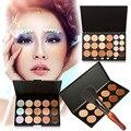 15/20/10 Colors Makeup Concealer Cream Cosmetic Palette Gourd Shape Blush Brush Makeup Set For Make Up Tools