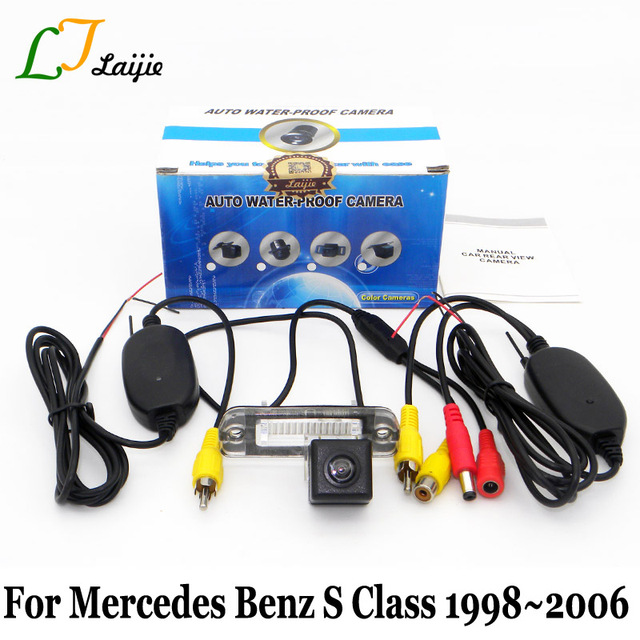 Laijie Drahtlose Rückfahrkamera Für Mercedes Benz S klasse W220 1998 ...