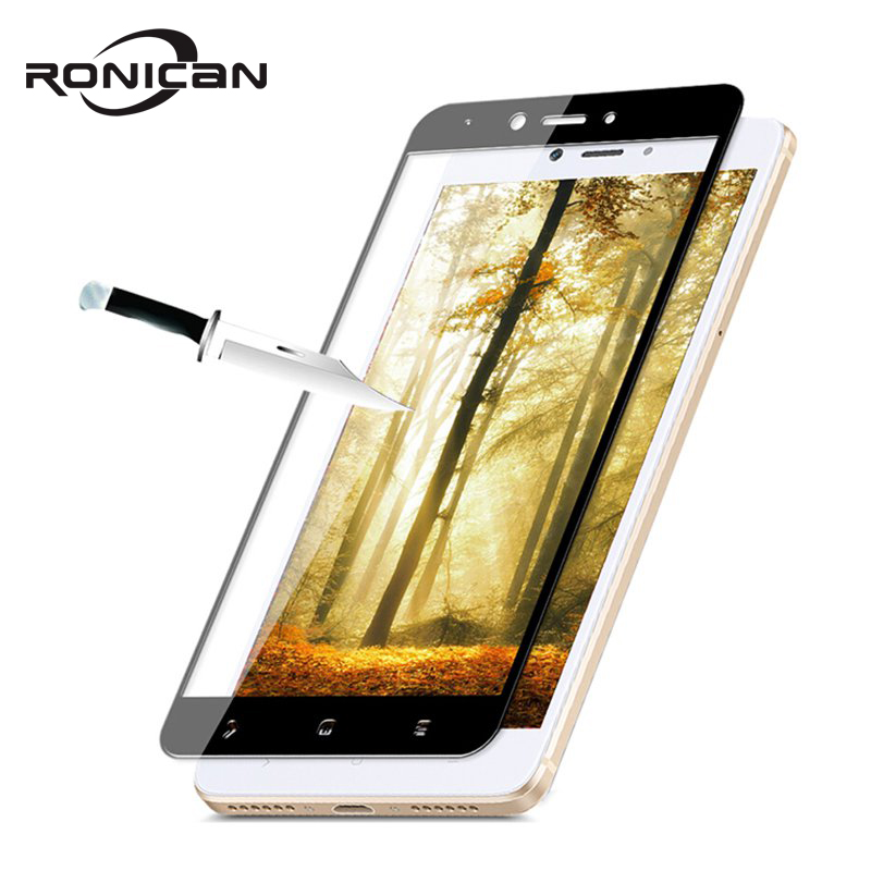 RONICAN Tempered Glass For Xiaomi Redmi Note 4X Redmi 4X Full cover Screen Protector 9H Protector Film for Xiaomi Redmi 4X glass