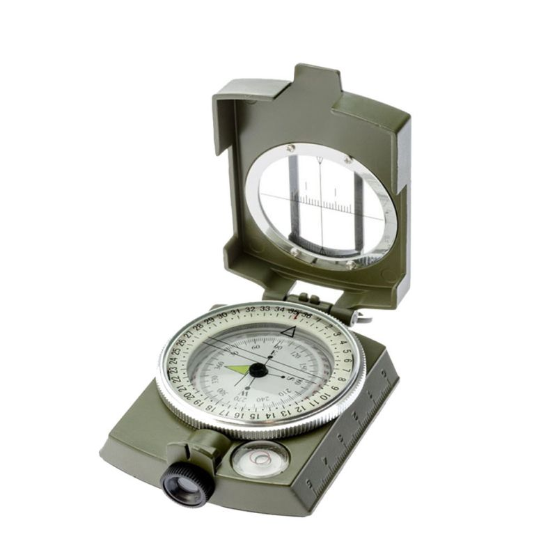 Professional Waterproof compass Military Army Geology Compass Sighting Luminous Compass for Outdoor Camping Hiking