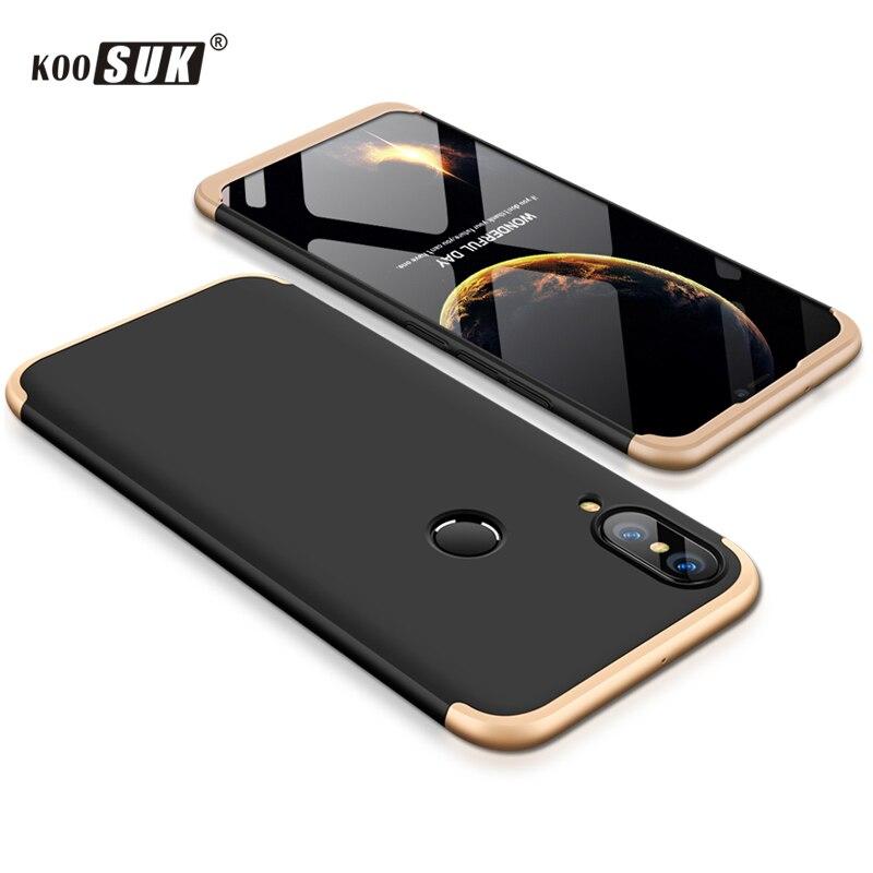Huawei P20 étui housse allégé Nova 3e coque de téléphone Capa dur de protection P20lite couverture arrière pour Huawei P20 Lite P30 Pro coque d'origine