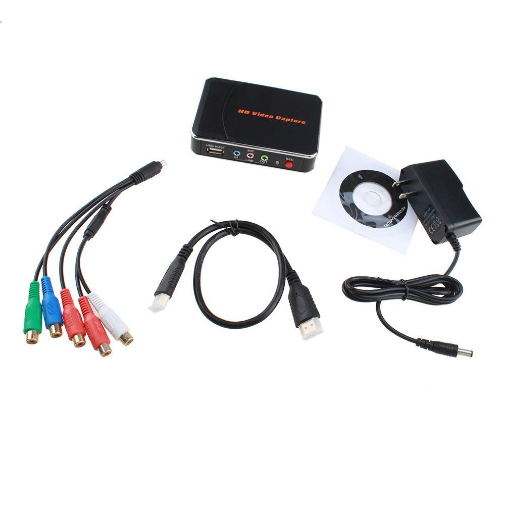 HD Game Capture vidéo 1080 P HDMI YPBPR enregistreur pour XBOX One/360 PS3/PS4 avec un clic aucun PC n'a demandé aucun réglage - 5
