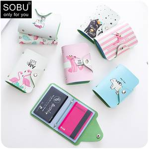 SOBU Business Card Holder Men Women Credit Passport Wallet