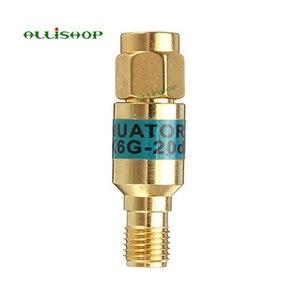 Image 3 - 2 W SMA الذكور إلى الإناث المخفف DC 6.0GHZ 50ohm 1 30dB موصلات RF الطاقة المخفض مانع