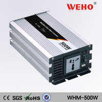 (WHM500 121)China hot selling Modified sine wave 110VAC output 12v power inverter 500w