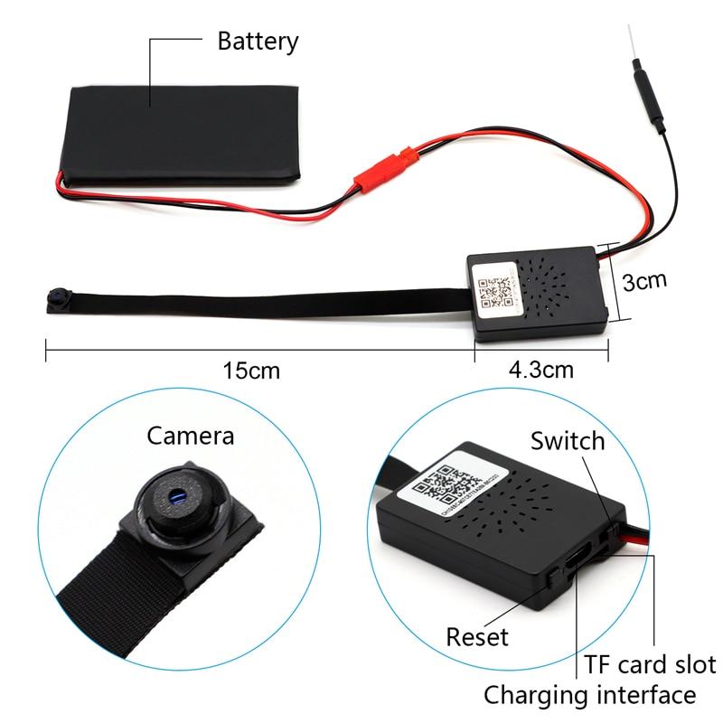 HD 1080P 4K Wireless WiFi IP CCTV Mini Camera Sport Espia DV P2P Video Recorder Digital Small Cam Camcorder Module цены