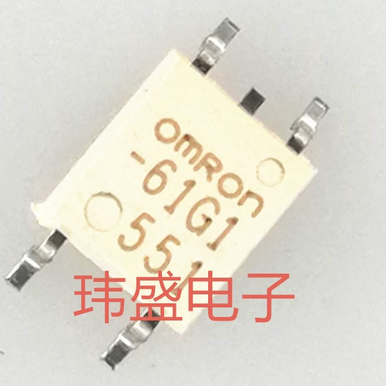 New Original G3VM-61G1 SOP-4 Patch Optocoupler Relay 61G1 5pcs bit3713 sop 16