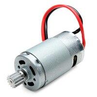 9115 2.4 GHz carro de Motor com engrenagem de 390 15 DJ01|motor with|spare parts|390 motor -