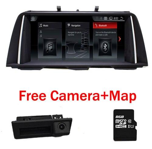 "Car Multimedia player 2din 10.25""android 7.1 Car dvd For BMW 5 Series F10/F11/520 (2011-2016) CIC/NBT GPS Radio 2GB RAM 32GB ROM"