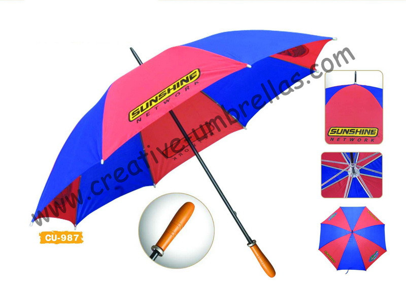 Free shipping by sea,190T polyester solid fabric 14mm metal shaft and ribs,hand open advertising golf umbrella,windproof style
