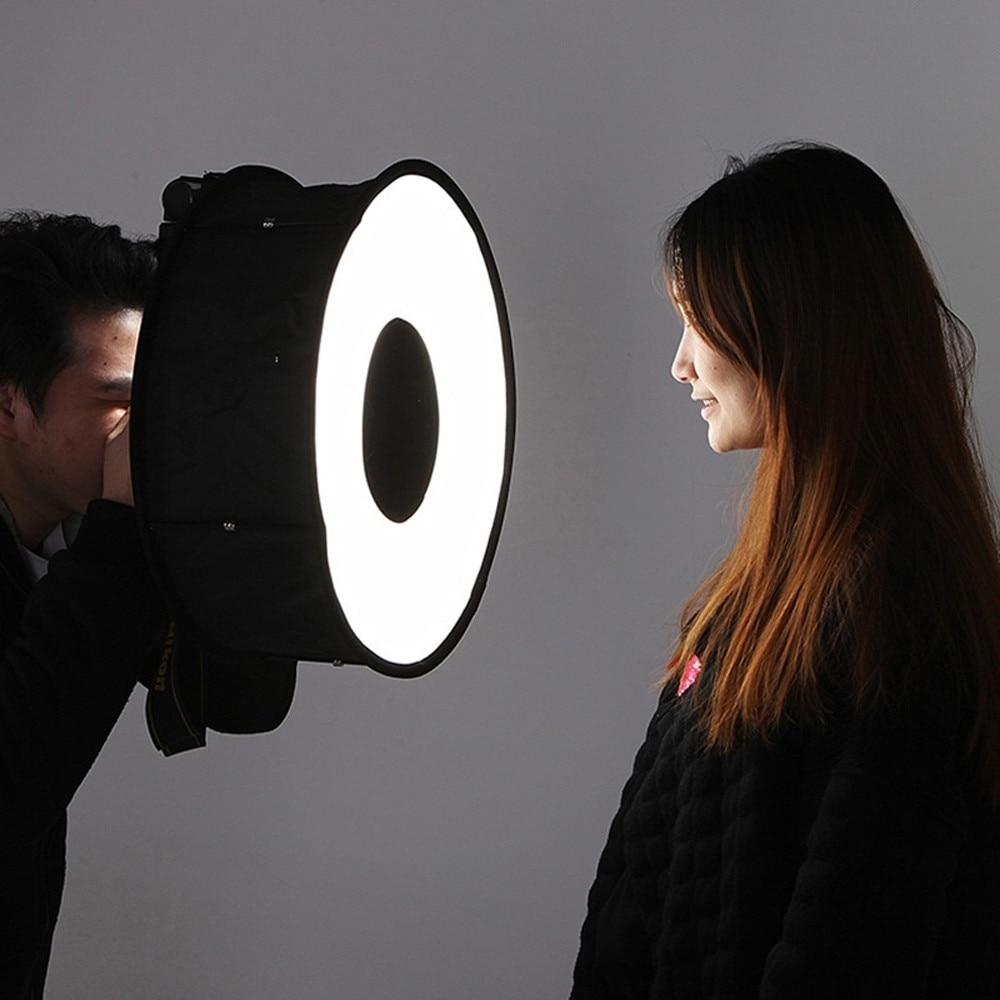Softbox Flash Light 45cm Foldable Speedlight For Canon