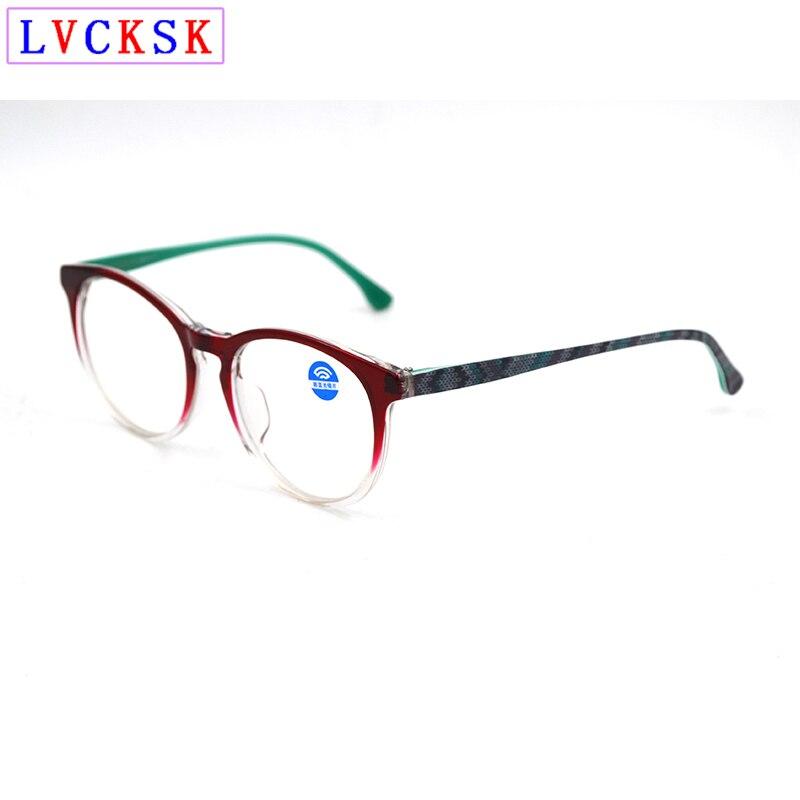 Frauen Blau Licht Blockieren Gläser Neue Anti Blue Ray Gradient Rahmen Mode Streifen Beine Brillen Computer Gaming Brille L3