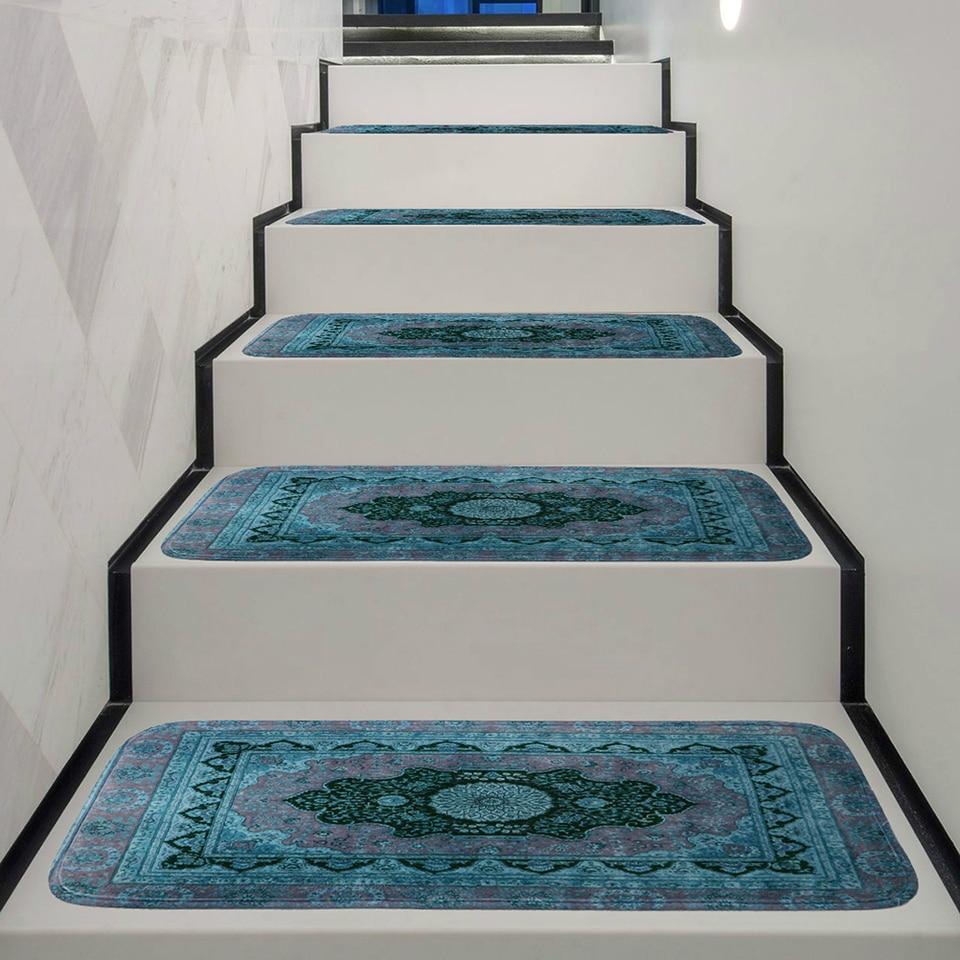 Washable Stair Treads Carpet Tread Rugs Rubber Backing Self   Felt Back Carpet On Stairs   Stair Treads   Loop Feltback   Rolls Flecked   Purple   Flooring
