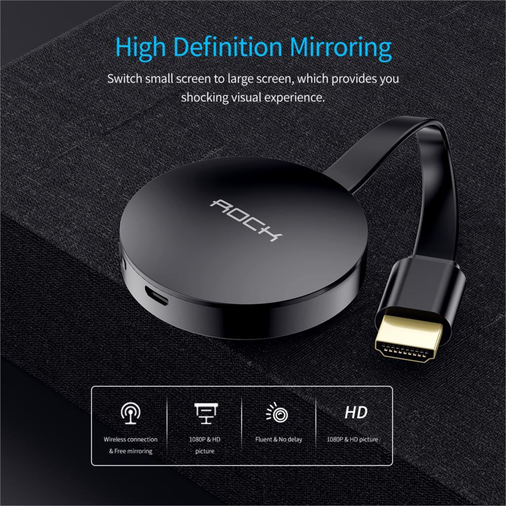 ROCK Wifi Display Dongle with HDMI Port 5