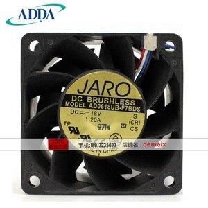 NEW ADDA AD0618UB-F7BDS 6038 18 V 1.2A 6 CENTÍMETROS ventilador de refrigeração
