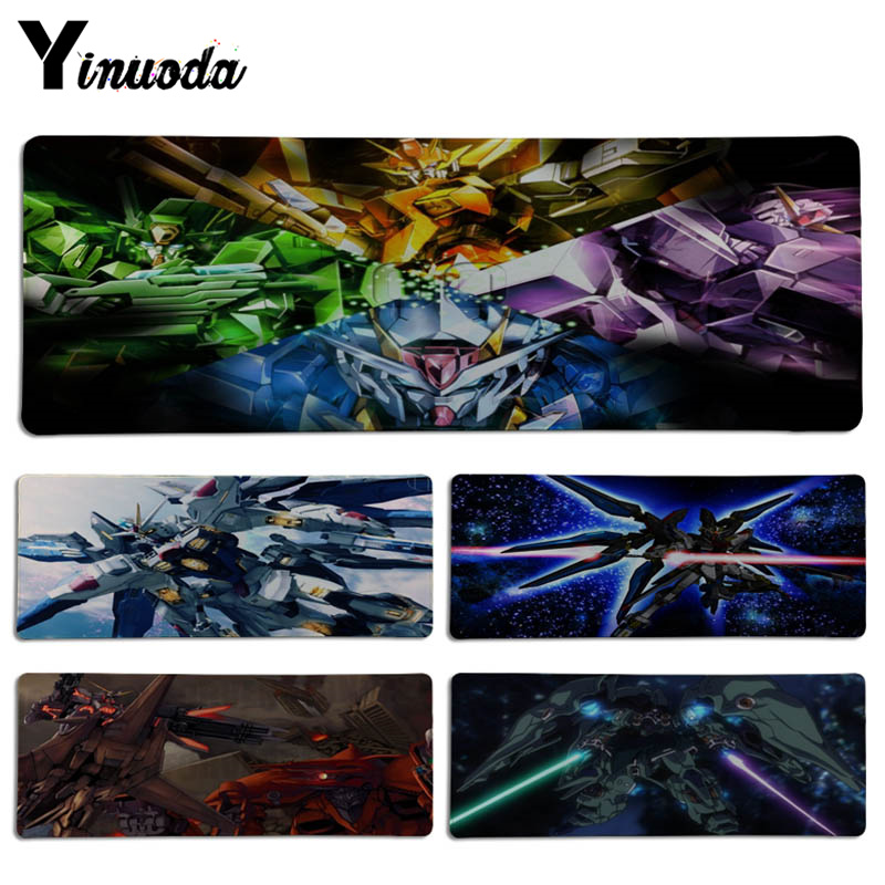 Yinuoda Japanese anime GUNDAM mouse pad gamer play mats Size for 30x90CM Speed Version Gaming Mousepads