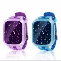 DS18 Inteligente Watch, niños, Niños Del Bebé WiFi GPS Localizador Del Perseguidor SOS Llamada SMS Ayuda 2G SIM Card Niños IP67 A Prueba de agua Smartwatch