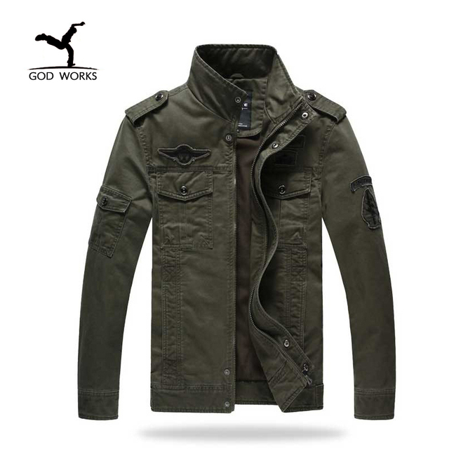 Aliexpress.com : Buy Mens Jacket Styles Male Spring Military ...