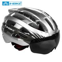 INBIKE M L Size Ultralight Men Women Bicycle Helmet Cycling Helmet Road Mountain Bike MTB Helmet