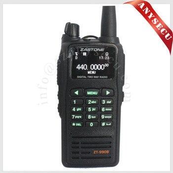 1pcs NEW Launch Digital Portable Radio Walkie Talkie Zastone ZT-9908 DPMR Digital Standard UHF 430-470MHz Handheld Two Way Radio