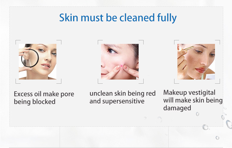 WIS anti acne facial cleanser purifying cleansing gel deeply clean oil control shrink pore woman and man - 3