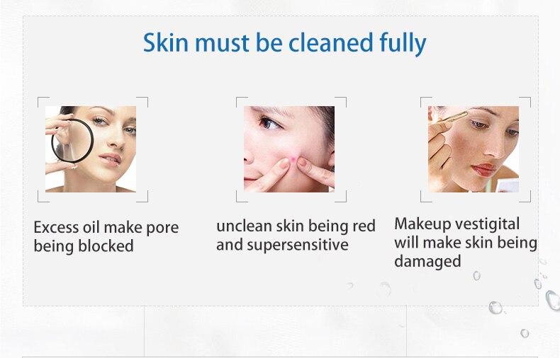 WIS nettoyant visage anti acné gel nettoyant purifiant nettoyage en profondeur huile contrôle rétrécissement pores femme et homme - 3