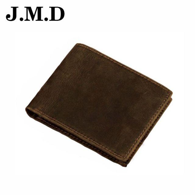 JMD 2017 Hot Sale Comfortable Brand Design Genuine Leather Wallet Men Bag Compartment Men Wallet Purse Clutch High quality JD002
