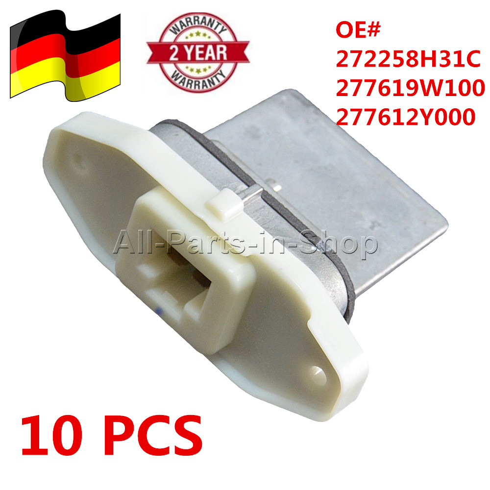 NEW Fan Blower Motor Resistor for Nissan Altima Maxima Infiniti I35 277619W100