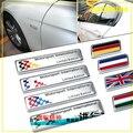 Флаг наклейки англия германия италия франция флаги Motorsport кузова наклейки украшения для BMW X1 X3 X5 X6 E90 стайлинга автомобилей