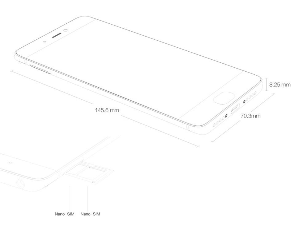 Original Xiaomi Mi5s Mi 5S  Mobile Phone s-bg1