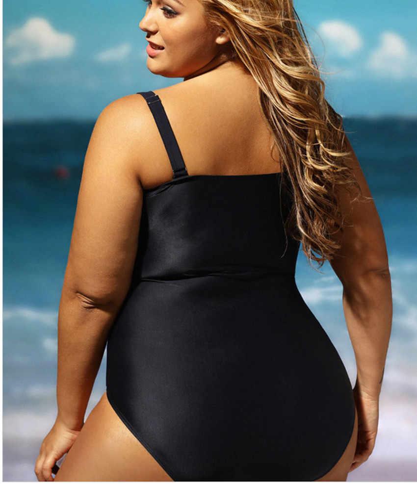 Женская одежда для плавания большого размера на косточках, супер пуш-ап, Цельный купальник, женский сексуальный цельный купальник, 2017 Купальники больших размеров