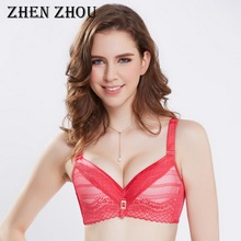 fbdf52965f zhenzhou 2018 female underwear lace sexy adjusted-straps bralettle bras for  women small breasts push