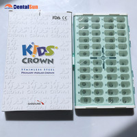 Korean Original Stainless Steel Baby Crown/Dental Kids Crown
