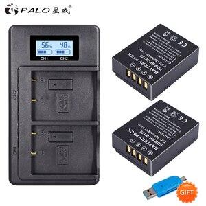 PALO 2Pcs NP-W126 camera Battery + LCD Dual Charger For Fuijofilm HS30EXR X100F X-PRO2 X-A1 X-A10 X-E1 X-E2S X-M1 X-T2(China)
